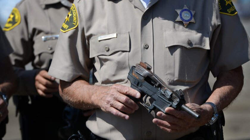 A union representing sheriff's deputies on Tuesday sought unsuccessfully to block a newspaper from publishing information from officers' background checks.