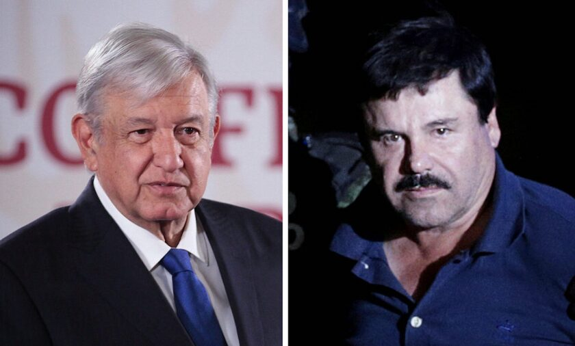Mexican president flouts coronavirus protocol to shake hands with mother of 'El Chapo'