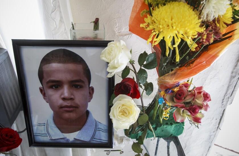 Jose Antonio Elena Rodriguez, 16, was shot through the border fence by a U.S. Border Patrol agent in 2012. His family has sued.