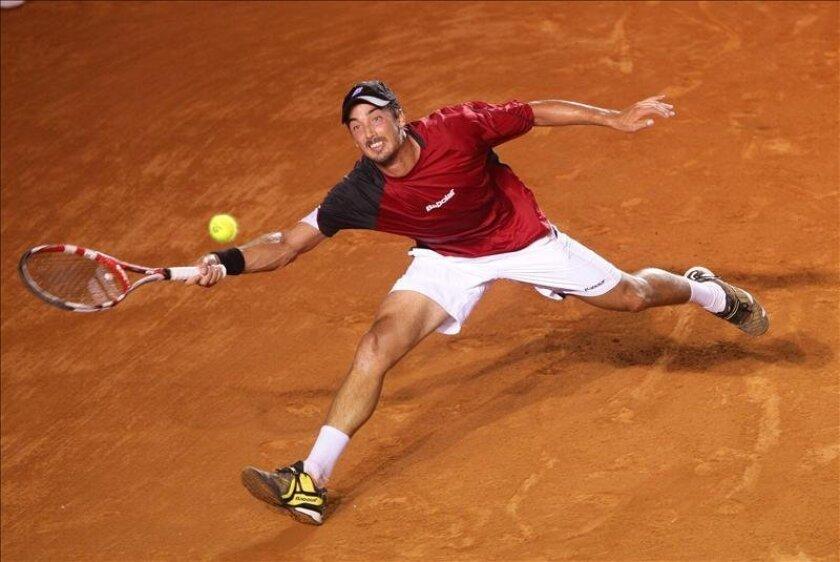 El tenista argentino Martín Alund. EFE/Archivo