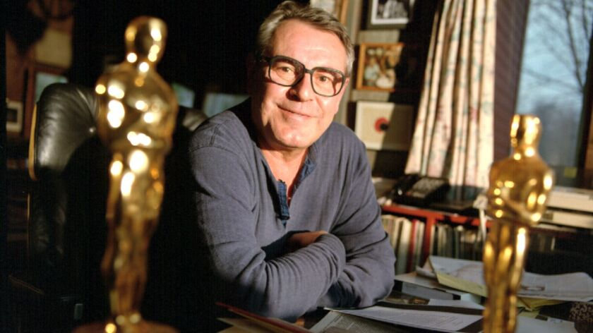 Oscar–winning director Milos Forman in his Connecticut home.