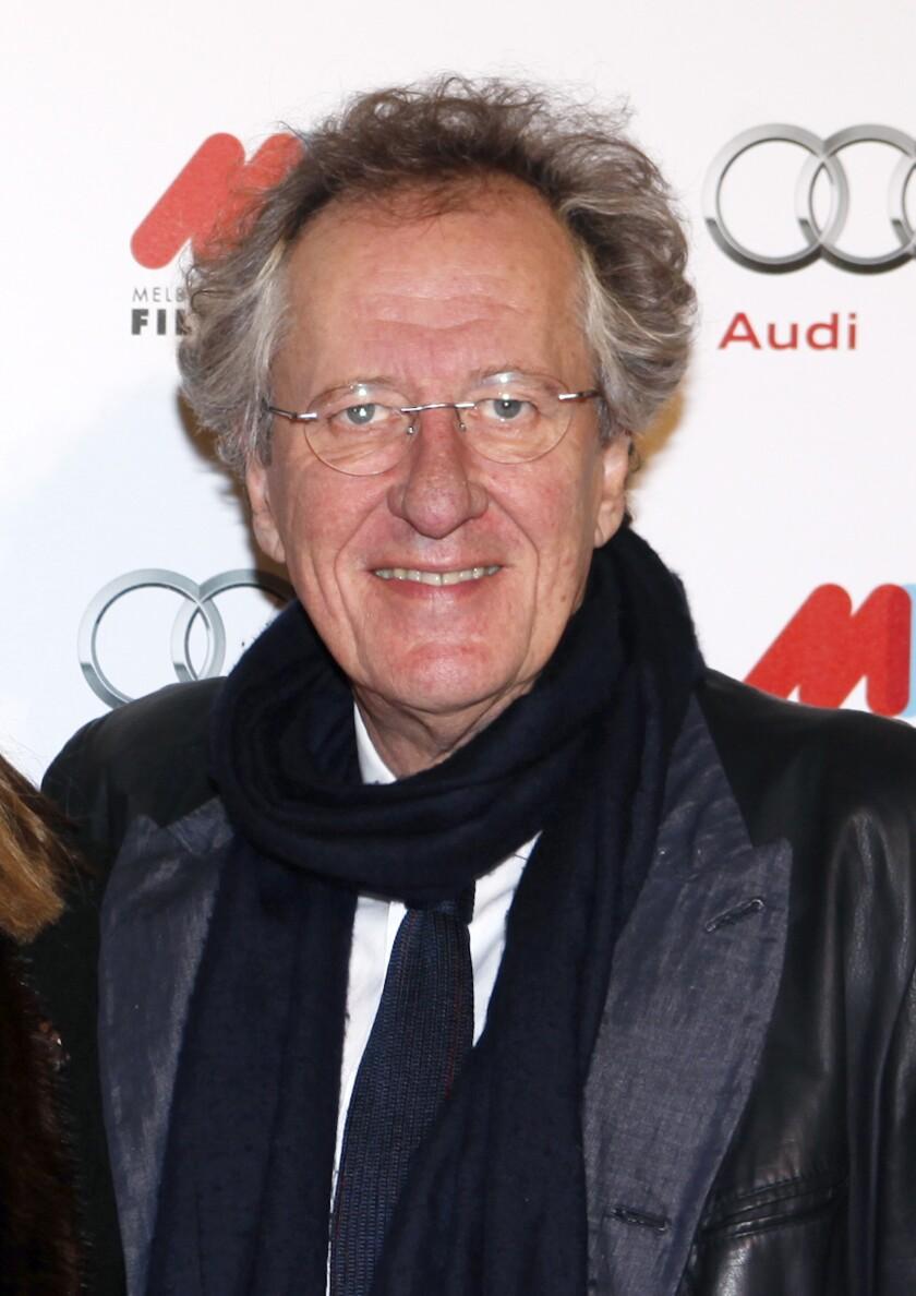El actor australiano Geoffrey Rush