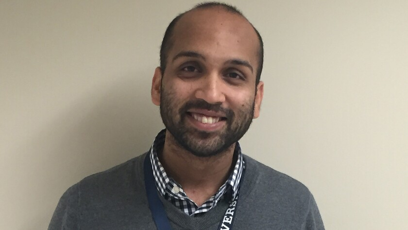 Pranay Sinha of Hamden is in his third year of residency in internal medicine at Yale-New Haven Hospital.