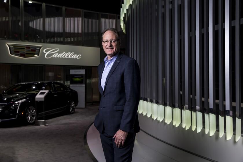 Cadillac president Johan De Nysschen at Automobility LA, the media portion of the 2017 L.A. Auto Show.