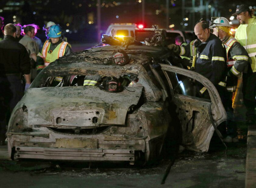 Deadly limo fire: Victims part of bachelorette party