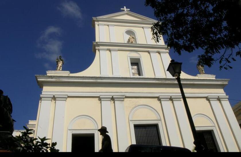 Fotografía de la Catedral de San Juan. EFE/Archivo