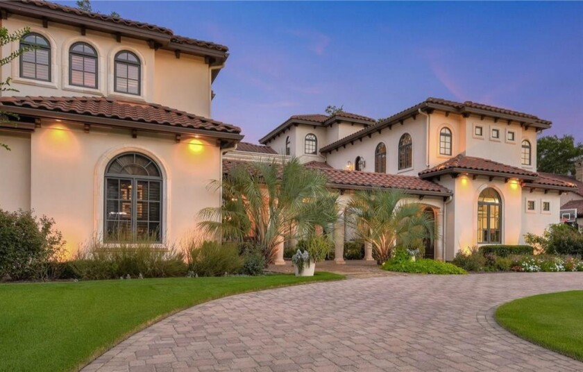 Huston Street's Texas mansion