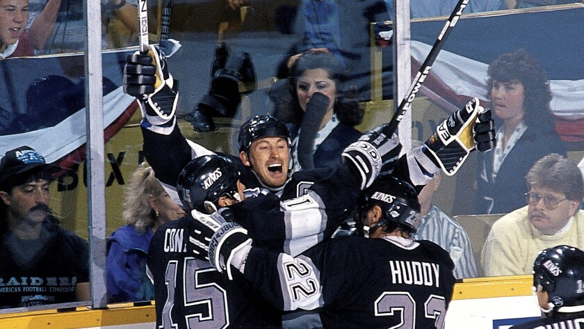 Los Angeles Kings Wayne Gretzky, 1993 Playoffs