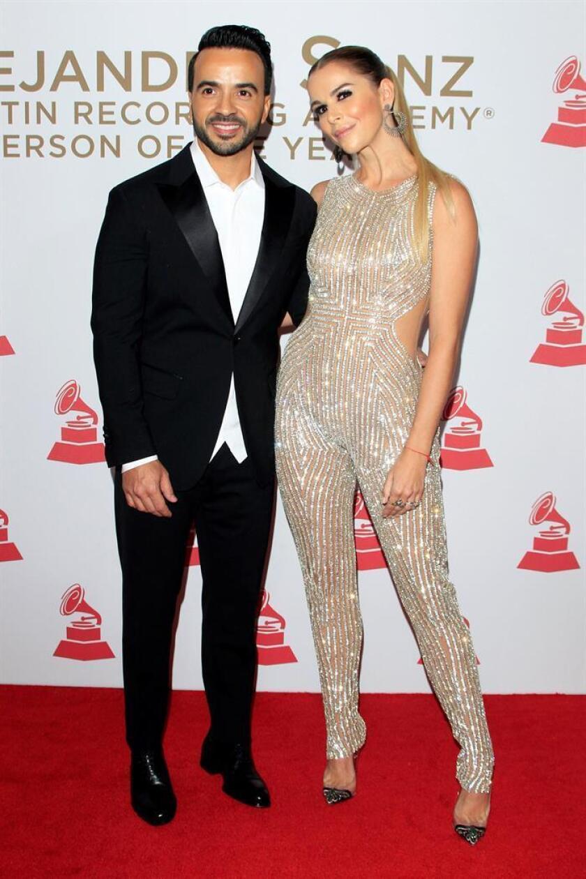 """La alfombra roja de los Grammy Latino celebra el éxito global de """"Despacito"""""""