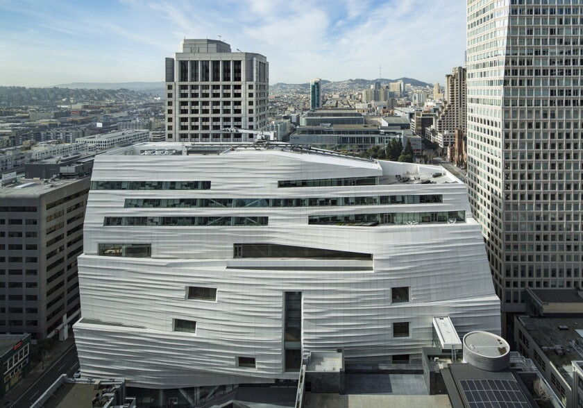 Expansion of the new SFMOMA