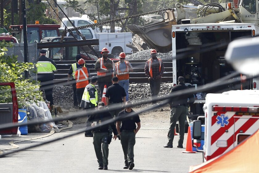 Cleanup and repairs continue at the site of a deadly train derailment this week in Philadelphia.