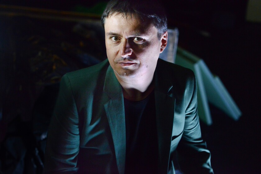 "Romanian director Cristian Mungiu (pictured) took the director's prize (he shared it with the French filmmaker Olivier Assayas) for ""Graduation."""