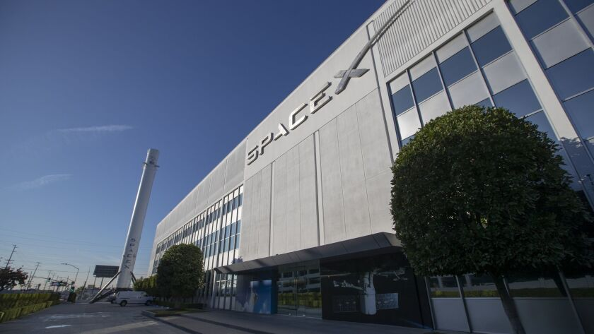 Hawthorne headquarters of SpaceX to be hit hard by layoffs - Los