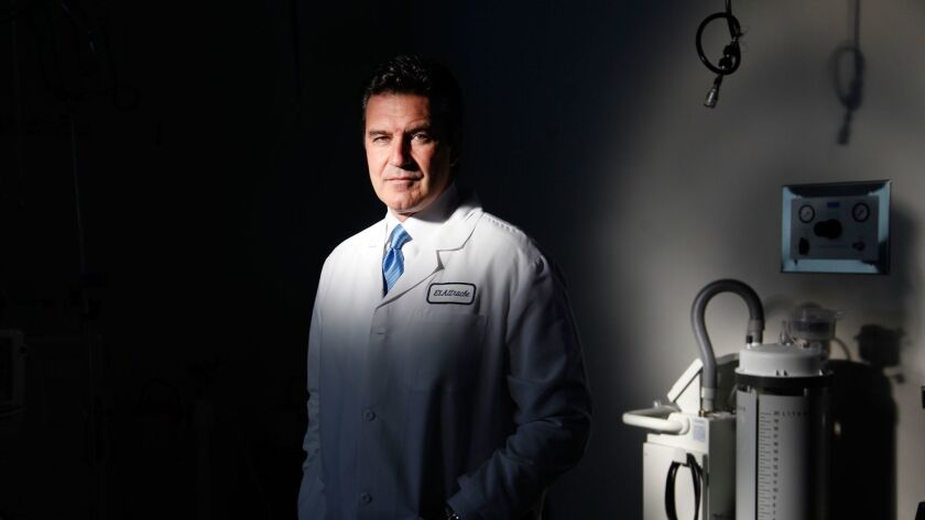 LOS ANGELES, CA- Dr. Neal ElAttrache is the orthopedic surgeon who operated on Kobe Bryant and Zach