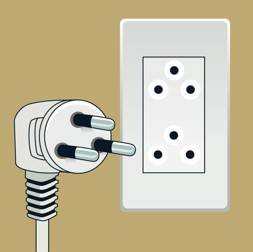 Type O plug and socket