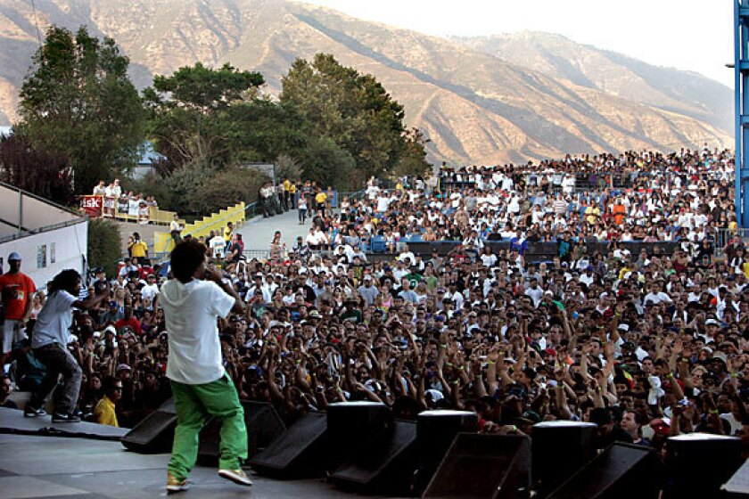 The Pharcyde turns in a kinetic set at Rock the Bells.