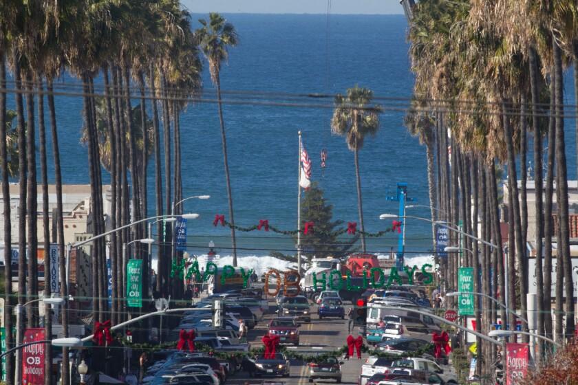 A photo of Ocean Beach Holiday Parade