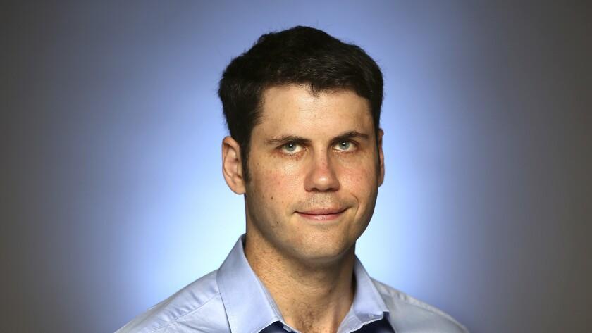 Los Angeles Times reporter Jonathan Kaiman.