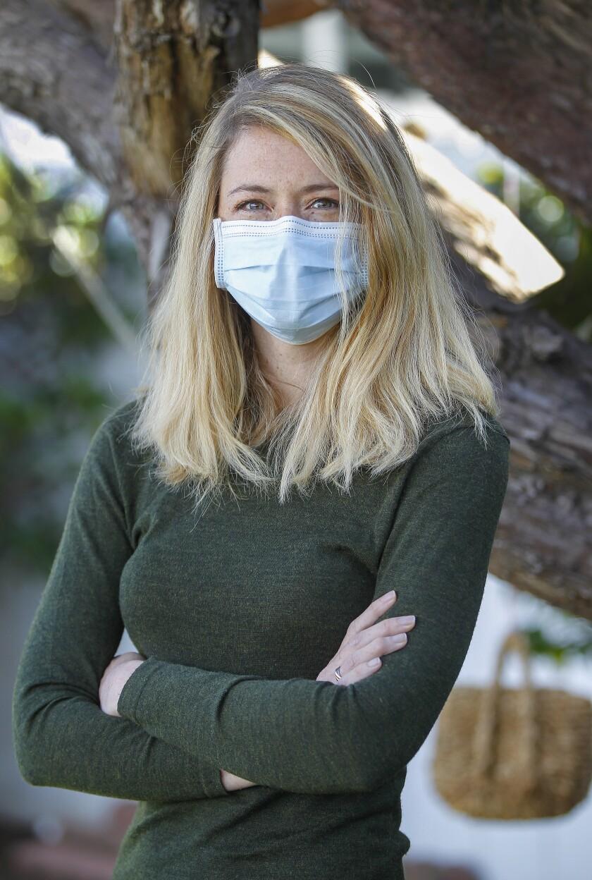 UCSD associate professor Natasha Martin, an infectious disease modeler.