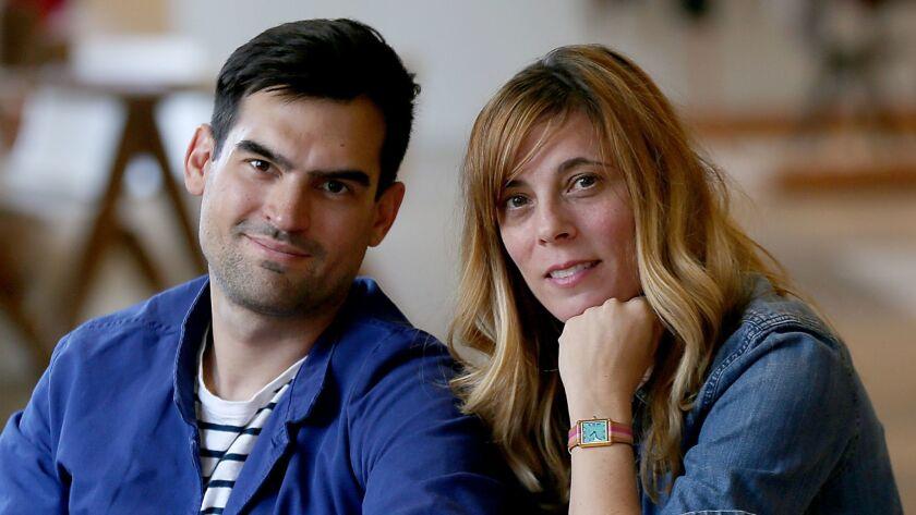 Leszek Garwacki and Courtney Ormond
