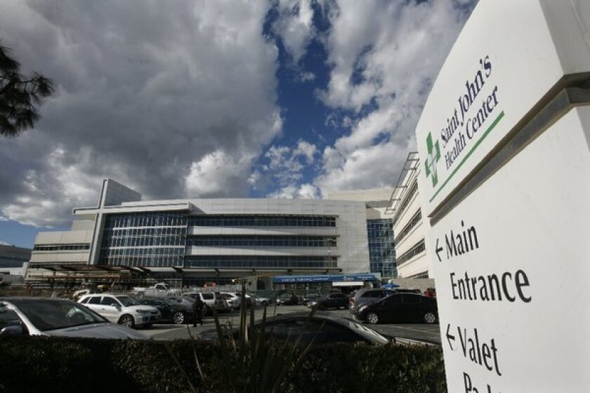 St. John's Health Center in Santa Monica plans sale to Providence