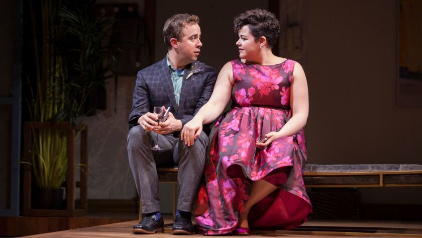 """Will Von Vogt and Melanie Field in the Geffen Playhouse's production of """"Significant Other."""""""