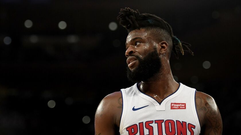 reputable site 6b7dc e09b0 Reggie Bullock acquired by Lakers in trade with Detroit ...