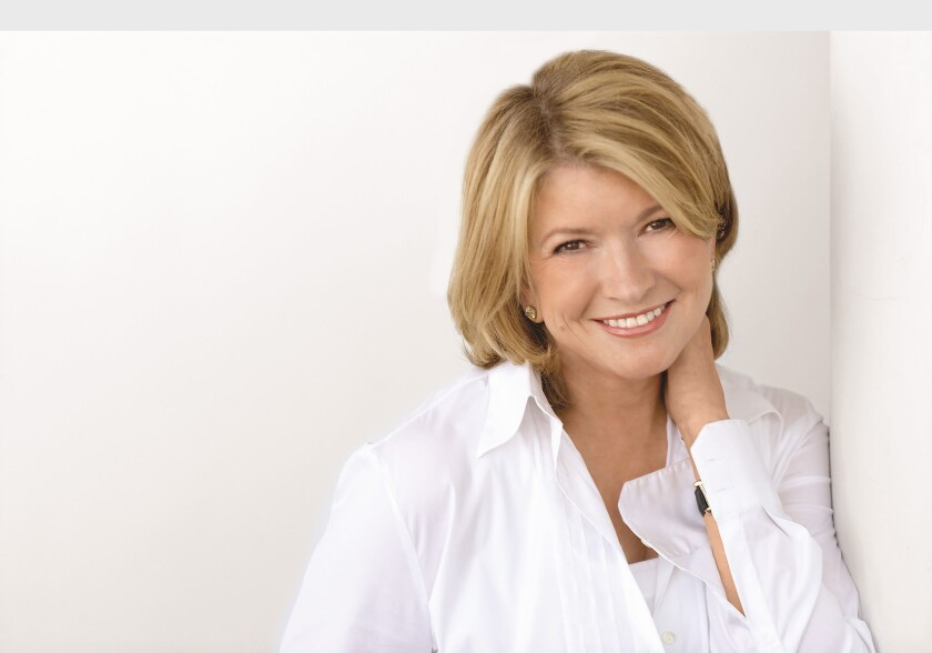 Martha Stewart was dismissive of the work of lifestyle and food bloggers.