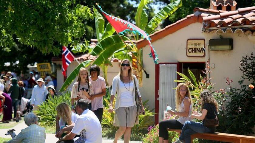 Balboa Park's international cottages