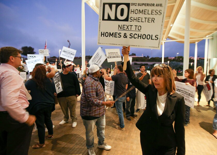 Newport Beach residents ready to sue over possible homeless shelter