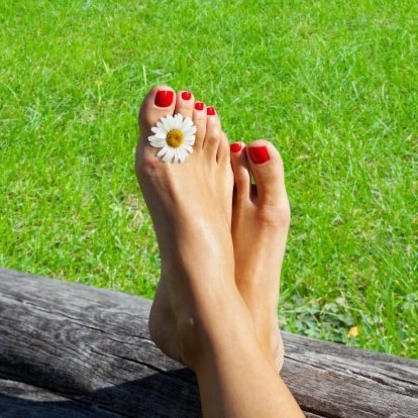Laser therapy can restore healthy, beautiful feet.