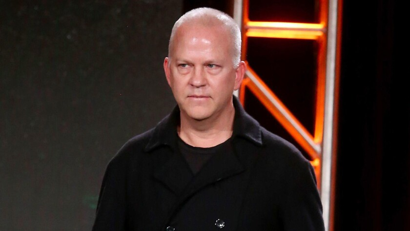 Executive producer, writer and director Ryan Murphy during the FX portion of the 2017 Winter Television Critics Assn. press tour in Pasadena.