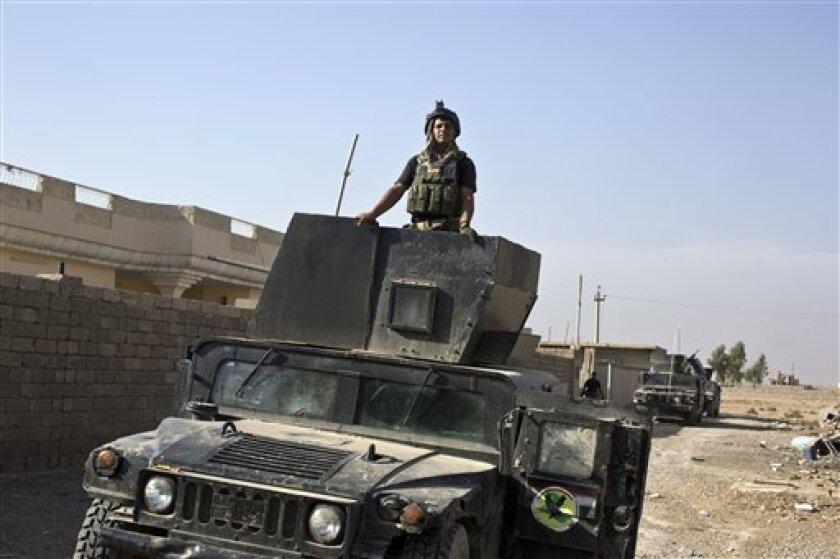 Las fuerzas antiterroristas iraquíes irrumpieron hoy en cuatro barrios de la parte oriental de la ciudad de Mosul, en el marco de la ofensiva para expulsar a los yihadistas del grupo Estado Islámico (EI) de su principal bastión en Irak.