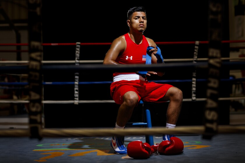 Carlos Balderas will compete in the lightweight division in the 2016 Rio Olympics.
