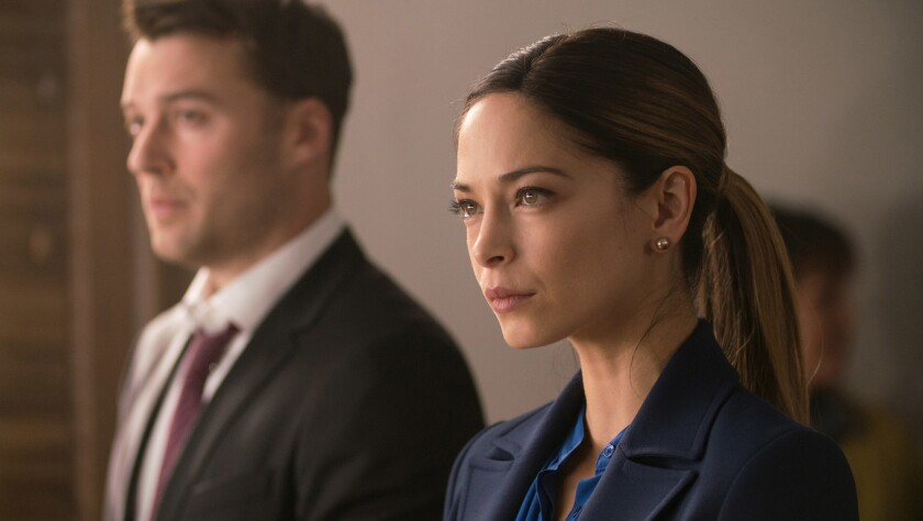 """Kristin Kreuk plays a big city attorney confronting a small town conspiracy and secrets from her past in the CW series """"Burden of Truth."""""""