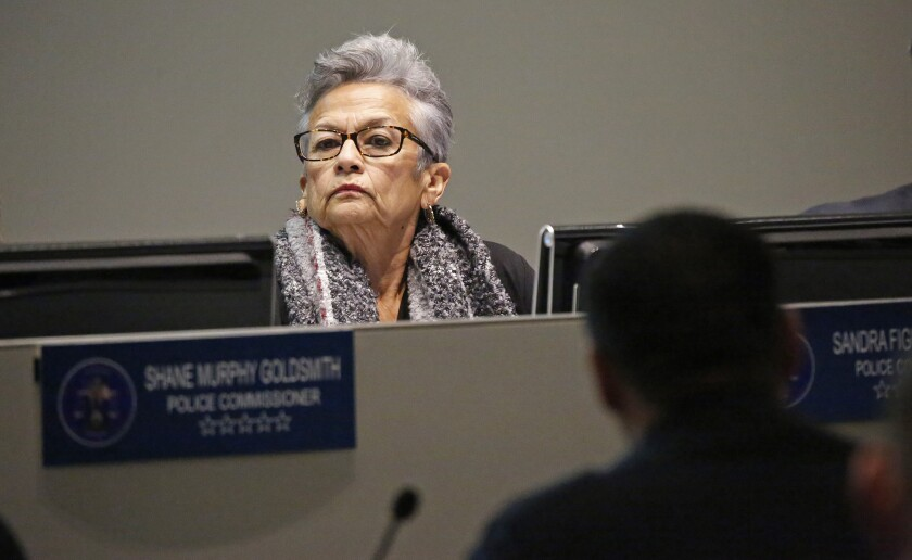 Los Angeles Police Commissioner Sandra Figueroa-Villa