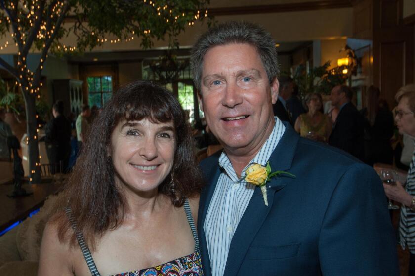 Juliane Hampton and Paul Ecke III