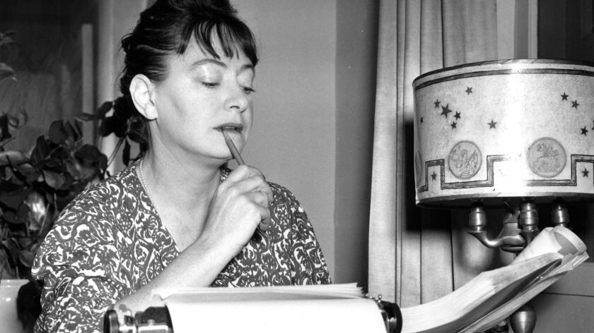 """Dorothy Parker, shown in 1941, is one of the critics in """"Sharp."""""""