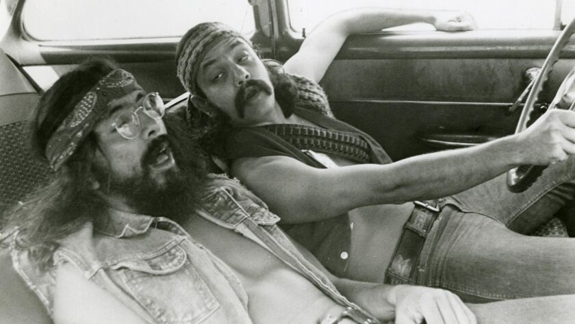 """Cheech and Chong, pictured in their 1979 film """"Up in Smoke,"""" perform at Pala Casino on July 11."""