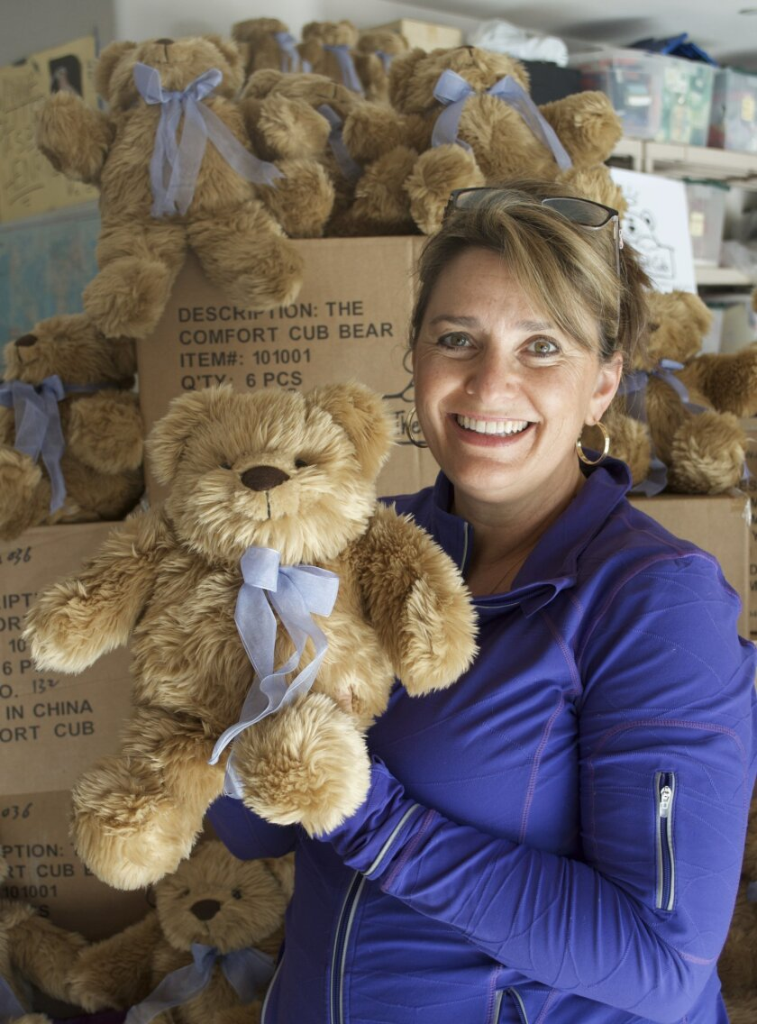 Comfort Cub founder and La Jolla High school graduate Marcella Johnson (nee Millot)