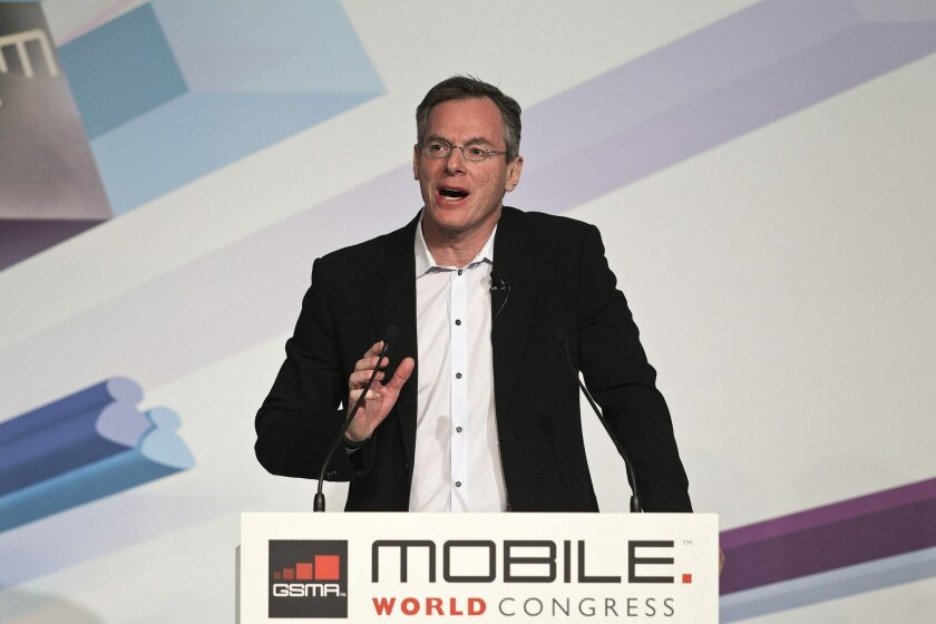Qualcomm CEO Paul Jacobs at Mobile World Congress
