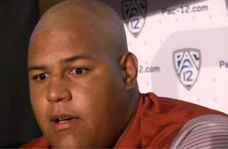 Zach Banner holds court at Pac-12 media day