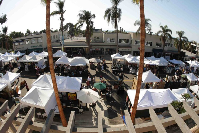 The La Jolla Art & Wine Festival returns to the Village Oct. 9 and 10.