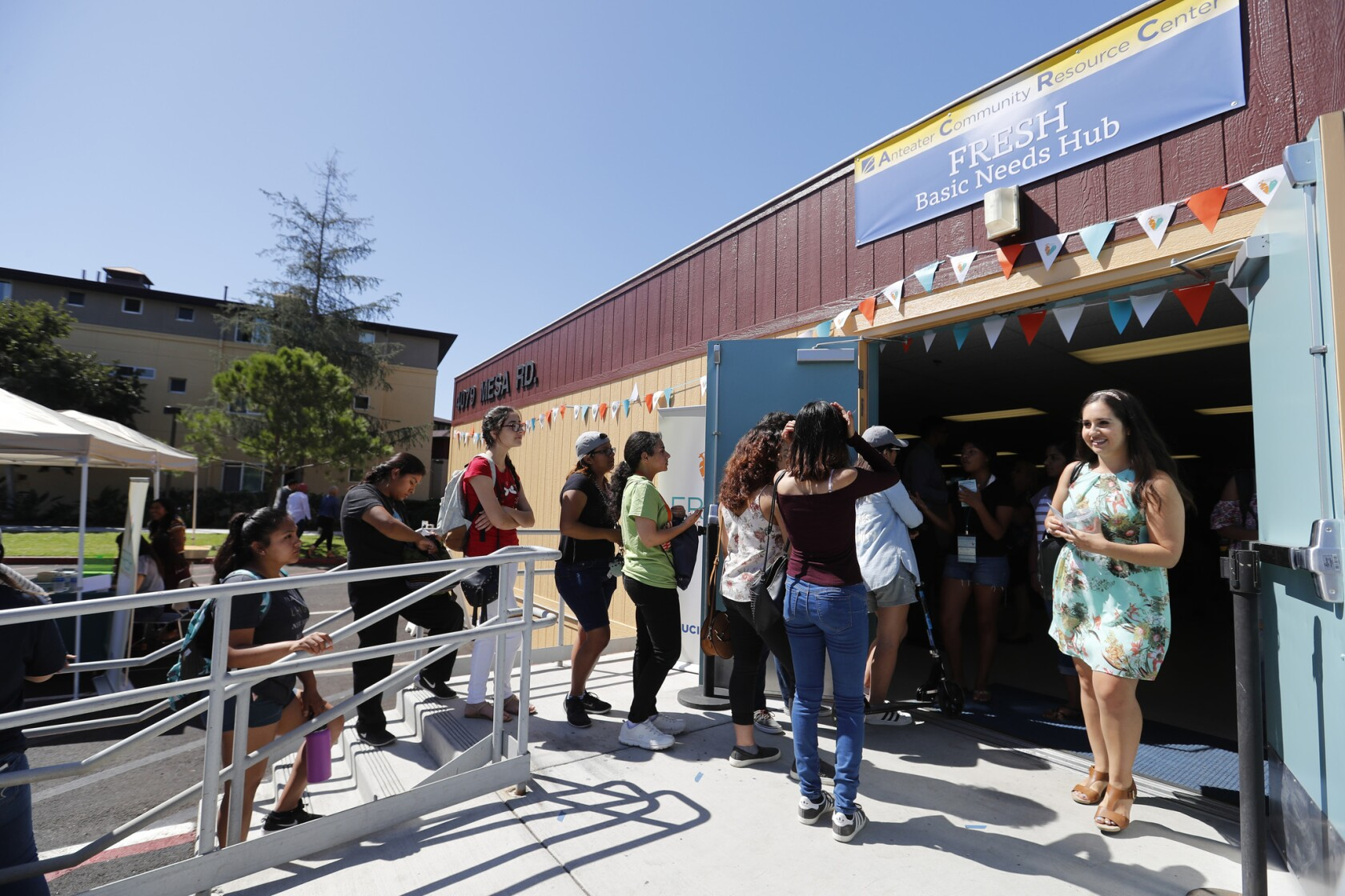 UC Irvine opens expansive food pantry as more college