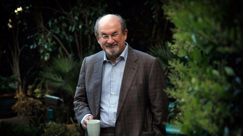 "LOSANGELES, ET-APRIL18, 2013: ""The Satanic Verses"" made Salman Rushdie public enemy No. 1 in the Isl"