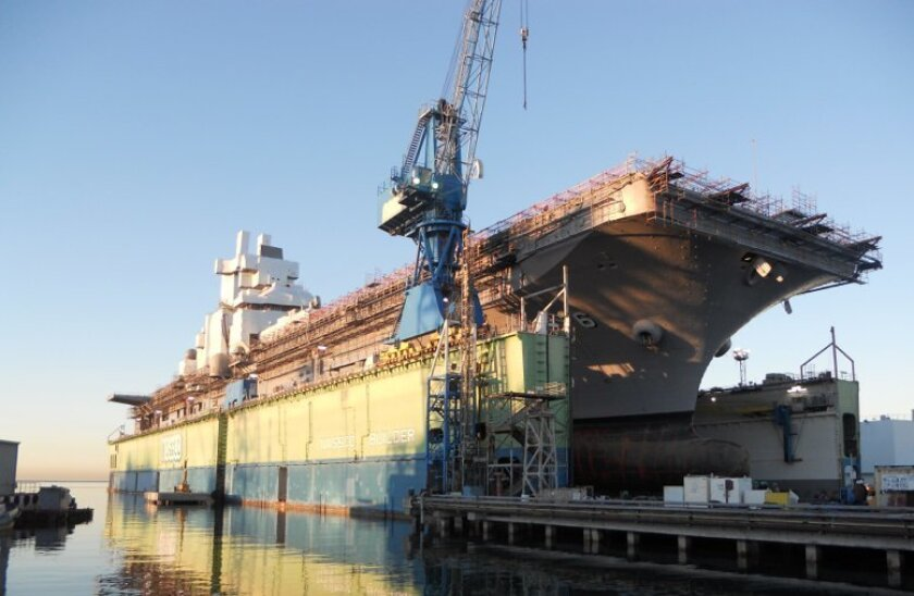 General Dynamics NASSCO has 3,200 employees in its San Diego operation, hundreds of whom helped upgrade and overhaul the amphibious assault ship Bonhomme Richard.