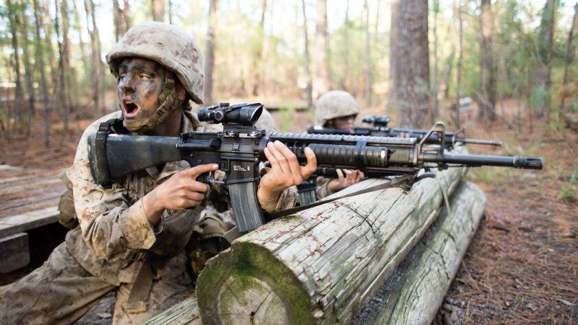 Females Marines
