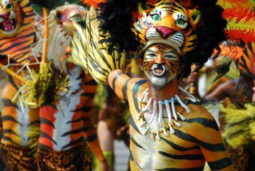 """Stephen took """"El Tigre"""" during Colombia's Carnaval de Barranquilla and submitted it to Your Scene's Caribbean Destinations album. Related: The magic of Cartagena, Colombia"""