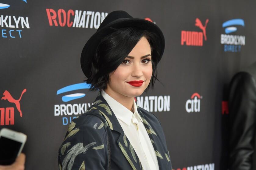 Demi Lovato expressed her gratitude for boyfriend Wilmer Valderrama on the third anniversary of her sobriety.