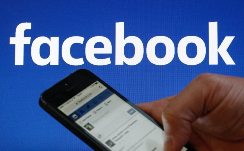 FILE PHOTO - The Facebook logo is displayed on their website in an illustration photo February 1, 2017.